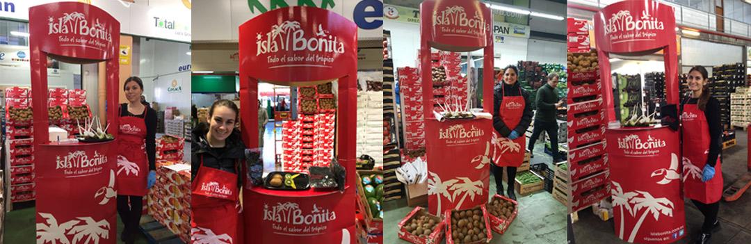 Degustaciones kiwi Isla Bonita 2018