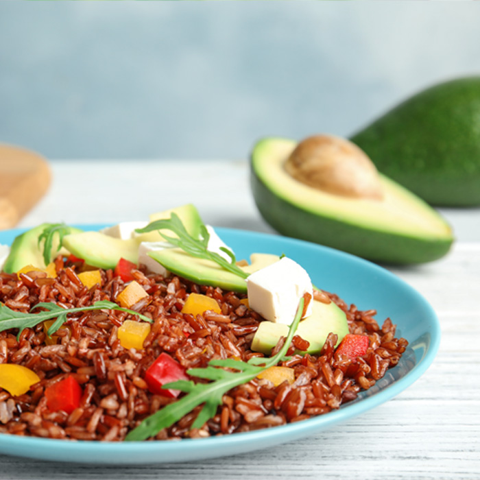 arroz al aguacate Light